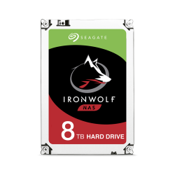 HD Interno  Seagate NAS Ironwolf 8TB